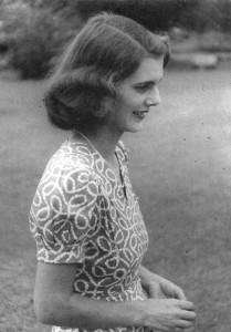 Diana Franklin, India , circa 1942